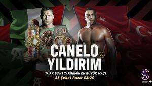 Türk Boks tarihinin en büyük maçı Canelo vs. Avni Yıldırım