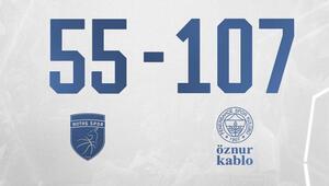 Kadınlar Basketbol Süper Ligi: BOTAŞ 55-107 Fenerbahçe Öznur Kablo