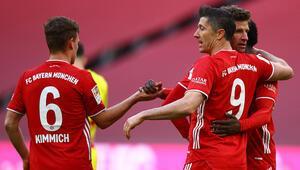 Bayern Münih sahasında Kölnü 5 golle yendi