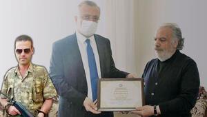 Şehidin diploması ailesine teslim edildi