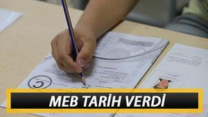 Liselerde sınav tarihleri belli oldu Milli Eğitim Bakanlığı duyurdu Yüz yüze sınavlar ne zaman yapılacak