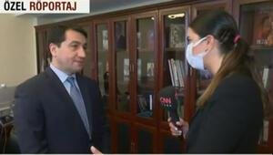 Hikmet Hacıyev CNN TÜRK'e konuştu: Azerbaycanın demir yumruğu gücünü koruyor