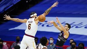 Cedi Osmanın yokluğunda Cleveland, Philadelphia 76ersı devirdi Furkan Korkmaz... NBAde gecenin sonuçları (28.02.2021)