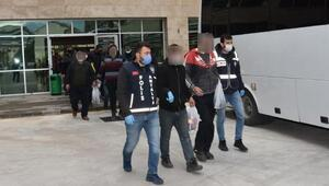 Aranan 37 kişi yakalandı