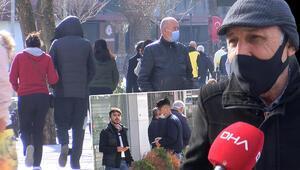 Kağıthanede şaşırtan kalabalık; ne maske var ne cezai işlem endişesi