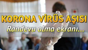 Aşı randevusu nasıl alınır e-Devlet ve MHRS aşı randevu ekranı