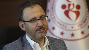 Gençlik ve Spor Bakanı Kasapoğlu: Martta seyirci alınmasını istiyoruz