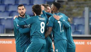 Milan, Romayı deplasmanda 2-1 yendi