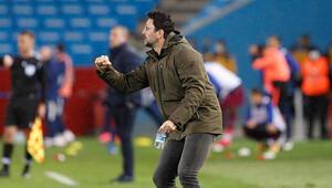 Erol Bulut: Futbolcularımı mücadelelerinden dolayı kutluyorum