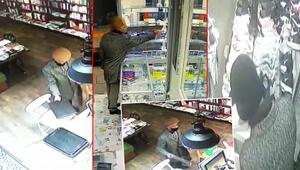 İstanbulda 4 ayrı iş yerinden hırsızlık güvenlik kamerasında