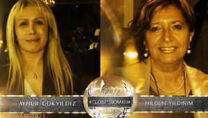 Yıldırım ve Gökyıldız 'Küresel Kadın Ödülü'ne aday gösterildi