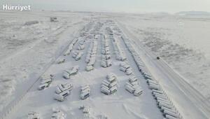 Buz ve karlarla kaplı hayalet şehir; Vorkuta