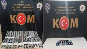 Şırnakta kaçakçılık operasyonu: 43 gözaltı