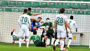 Giresunsporun 12 maçlık galibiyet serisi sona erdi