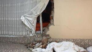 Uyurken duvar üstüne yıkıldı Hayatının şokunu yaşadı