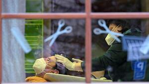 Almanyada kuaför ve berber salonları yeniden açıldı