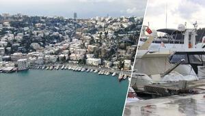 İstanbul Boğazında dikkat çeken yoğunluk