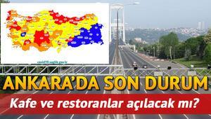 Ankarada restoran, kafeler ve lokantalar açılacak mı Hafta sonu sokağa çıkma kısıtlaması kaldırıldı mı İşte son bilgiler