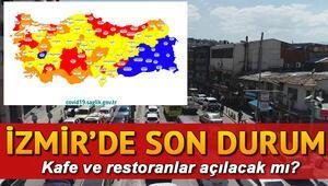 İzmirde kafeler ve restoranlar için yeni karar