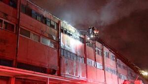 Sultangazide sanayi sitesinde yangın paniği