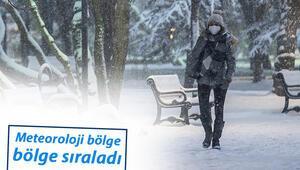Meteorolojiden son dakika hava durumu uyarısı Sağanak yağmur ve kar yağışı...