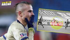 Fenerbahçede Pelkasın Trabzonspora attığı goldeki şutun hızı ortaya çıktı