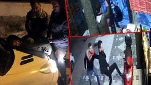 Aynı çiğ köfteciye ikinci saldırı anı kamerada
