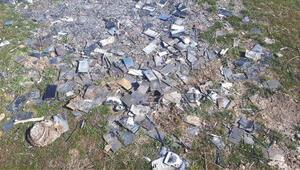 Bin adet cep telefonu yakılmış halde bulundu FETÖ şüphesi...