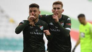 Kötü gidişe Dur diyen Bursaspor yeniden play-off için umutlandı