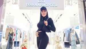 Azeri model Diana Ahadpour, İstanbul'dan sonra İzmir'e mağazasını açtı
