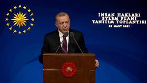 Cumhurbaşkanı Erdoğan, İnsan Hakları Eylem Planını açıkladı