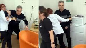 İzmirde doktor ile hastası arasındaki tartışma karakolda bitti