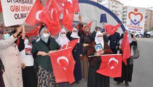 HDP önündeki eylemde 547nci gün; aile sayısı 209 oldu