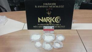 Eskişehir'de uyuşturucuya 1 tutuklama