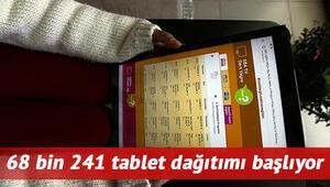 Tablet başvurusu nasıl yapılır MEB 68 bin 241 ücretsiz tablet dağıtımı ile ilgili Bakan Selçuktan açıklama