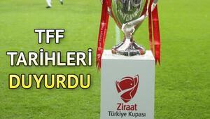 Ziraat Türkiye Kupası yarı final maçları ne zaman TFF 2021 ZTK yarı final maç programını açıkladı