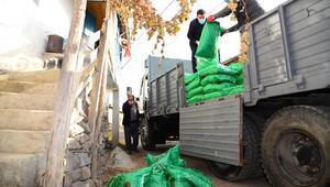 300 tonluk kömür yardımı