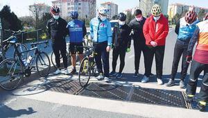 Bisikletçilerin mazgal isyanı