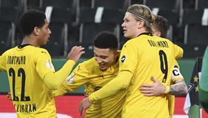 Almanya Kupasında Borussia Dortmund yarı finale yükseldi