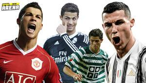 Cristiano Ronaldo tarihte bir ilki başardı Başka yapabilen yok...