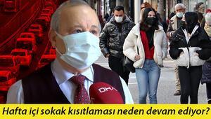 'Kısıtlama saatleri' ile ilgili Prof. Dr. Akın'dan dikkat çeken açıklama