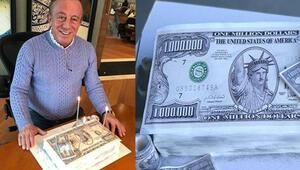 Ali Ağaoğluna 1 milyon dolarlık pasta