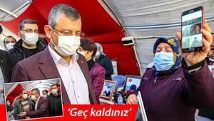 Evlat nöbetindeki ailelerden CHP heyetine tepki: Geç kaldınız