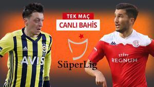 Fenerbahçe şampiyonluk, Antalyaspor rekor peşinde Bu maça iddaa oynayanların %71i...
