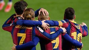 İspanya Kral Kupasında ilk finalist Barcelona
