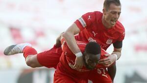 Sivassporun yenilmezlik serisi 5 maça çıktı