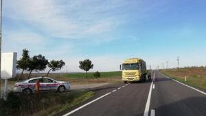 Edirnede jandarma, bin 363 sürücüye 751 bin lira ceza kesti
