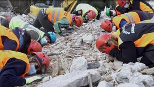 Beşiktaş'ta deprem tatbikatı düzenlendi