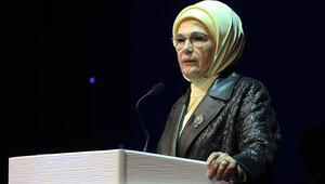 Emine Erdoğan Güçlü Türkiyenin Güçlü Kadınları Zirvesinde konuştu
