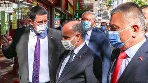 Emniyet Genel Müdürü Antalyada korona denetimi yaptı